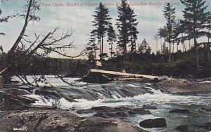 Red Pine Chute , Mouth of Upper Nipawa River , Ontario , Canada , 00-10s