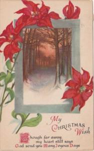My Christmas Wish Landscape Scene 1926
