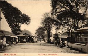 INDONESIA PC DUTCH INDIES - Batavia - Straatgezicht JAKARTA (a1715)