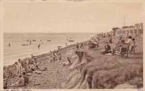 Leisurely day at the beach, Selsay, Sussex, England, United Kingdom, 10*20s