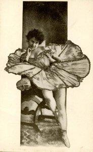 Lady in Skimpy Dress
