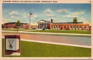 Massachusetts Springfield Shriner's Hospital Fir Crippled Children