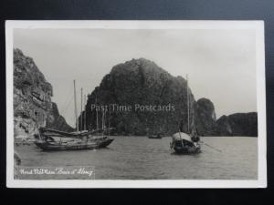 Vietnam: Nord Vietnam Baie d' Along c1953 - Old Real Photograph Postcard