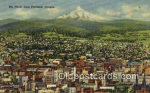 Mt Hood Portland OR Unused