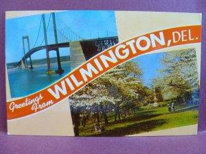Old Postcard Greetings Wilmington, DE