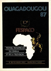 CPM Burkina Faso CINEMA FILM (780739)
