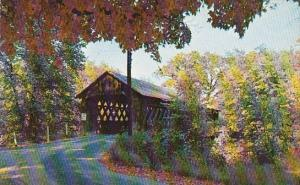 This Delightful Covered Bridge Crosses The Ashuelot River At Winchester Londo...