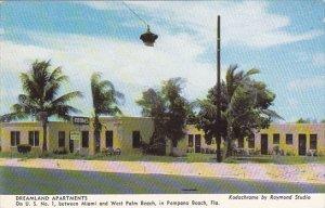 Florida Pompano Beach Dreamland Apartments &  Hotel Rooms