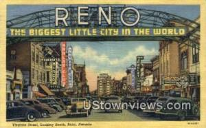 Virginia Street Reno NV 1944
