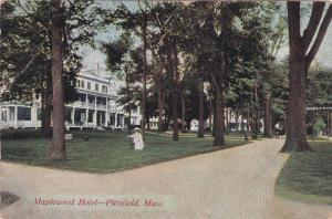 PITTSFIELD, Massachusetts, 1900-1910's; Maplewood Hotel
