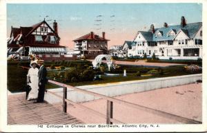 New Jersey Atlantic City Cottages In Chelsea Near Boardwalk 1916