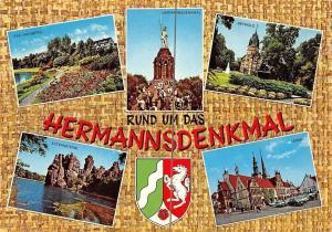 Rund um das Hermannsdenkmal, Bad Meinberg, Externsteine, Lemgo Detmold Schloss