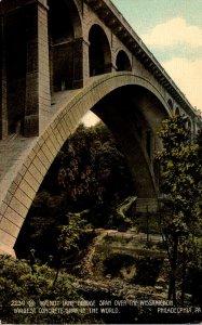 Pennsylvania Philadelphia Walnut Lane Bridge