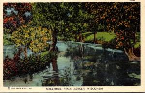 Wisconsin Greetings from Mercer Curteich
