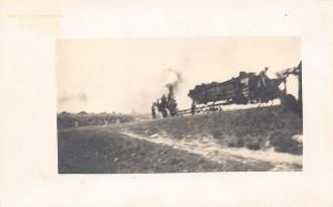 Early Steam Engine Tractor~Farm Equipment~1915 Real Photo Postcard~RPPC