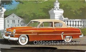 Postcard Post Card 1954 Plymouth Savoy Club Sedan