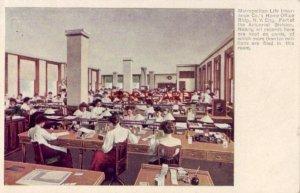 pre-1907 ACTUARIAL DIVISION, METROPOLITAN LIFE INSURANCE HOME OFFICE N. Y.  CITY
