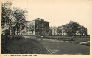 Iowa State Teachers College (I.S.T.C.) Cedar Falls, IA Postcard