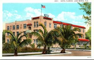 Florida Lake Worth Hotel Florida Curteich
