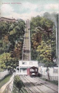 Incline Elevator, Montreal, Quebec, Canada, 1900-1910s