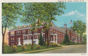 St Joseph Hospital Nashua Vintage USA Postcard