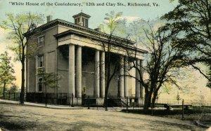 VA - Richmond. White House of the Confederacy