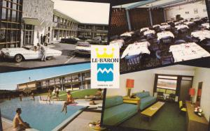 4-Views, Le BAron Motor Hotel, Swimmiing Pool, SHERBROOKE, Ontario, Canada, P...