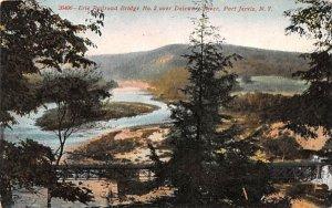 Erie Railroad Bridge No 2 Port Jervis, New York Postcard
