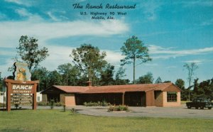 MOBILE , Alabama , 1950-60s ; The Ranch Restaurant