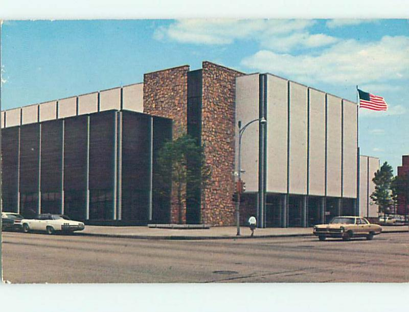 Unused Pre-1980 LIBRARY SCENE Peoria Illinois IL hs2083