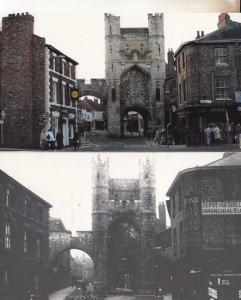Monk Bar Richard III Museum Queen Elizabeth Portcullis 2x York Large Postcard s