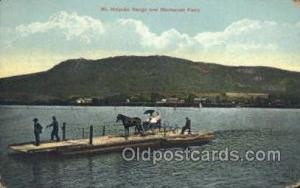 Hockanum Ferry Ferry Boats, Ship, Ships, Postcard Post Cards  Hockanum Ferry