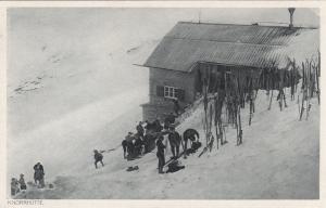 SWITZERLAND, 1900-1910's; Knoohutte