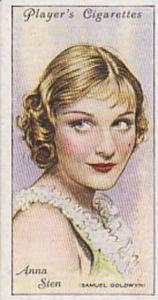 Players Cigarette Cards Film Stars Second Series No 42 Anna Sten