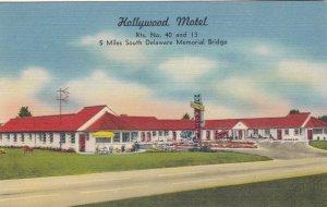 Delaware New Castle The Hollywood Motel U S Highway 40 sk2914