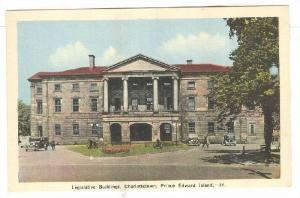 Legislative Buildings, Charlottetown, Prince Edward Island, Canada, 30-50s