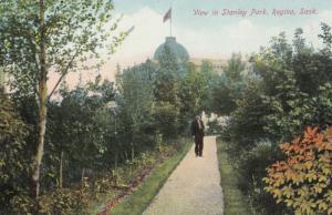 REGINA , Saskatchewan , Canada , 1900-10s ; View in Stanley Park