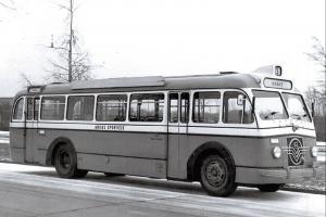 Superb NEW Postcard, Volvo Bus 1951 Busselskabet Aarhus Sporveje Denmark 86K