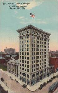 Missouri Kansas City Grand Avenue Temple 9th And Grand Avenue 1914