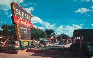 Sunset Lodge Abilene Texas TX