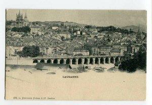 3131615 SWITZERLAND Lausanne street advertising Vintage PC