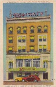 Massachusetts Boston Pieroni's Restaurant 1941