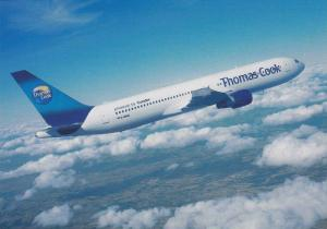 THOMAS COOK powered by Condor Boeing 767 Airplane , 60-80s