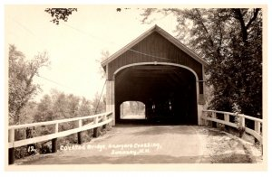 New Hampshire Swanzey Crossing Covered Bridge , RPC