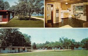 Oakland Arkansas Brentwood Resort Multiview Vintage Postcard K90857