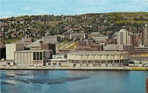 Duluth Minnesota~Duluth Arena-Auditorium~Harbor Drive~City on Hill~1960s PC