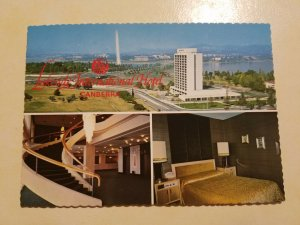 Lakeside International Hotel, Canberra, Australia Postcard