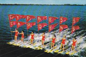 Water skiing , Cypress Gardens , Florida , 40-60s