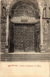 CPA VERONA Porta di Bronzo. S.Zeno. ITALY (448626)