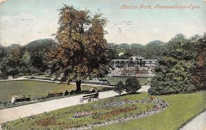 Newcastle on Tyne, Heaton Park Promenade Bench Valentine's Series